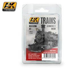 AK TRAINS LOCOMOTIVE AND WAGON