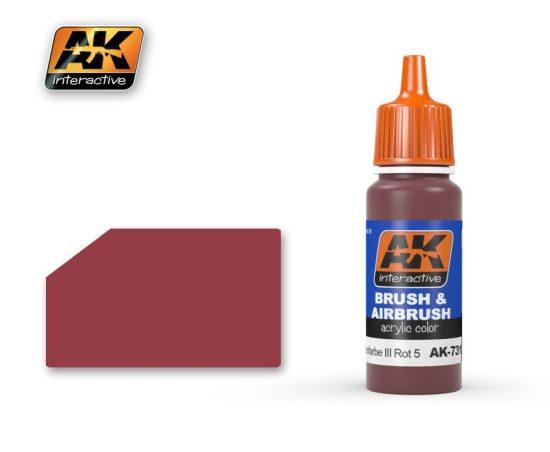 AK Ral 8013 Schiffsbodenfarbe III Rot 5 (Rojo Casco)