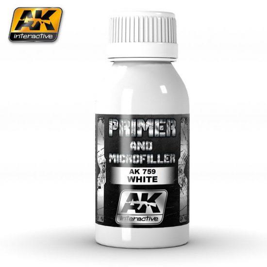 AK WHITE PRIMER AND MICROFILLER
