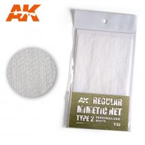 AK CAMOUFLAGE NET PERSONALIZED WHITE TYPE 2