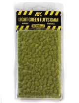 AK Light green tufts 6mm