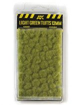 AK Light green tufts 12mm