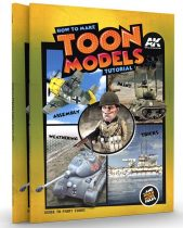 AK How to make TOON MODELS tutorial