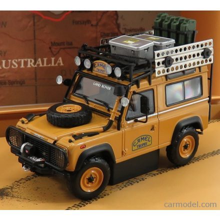 ALMOST-REAL LAND ROVER DEFENDER 90 RALLY CAMEL TROPHY AUSTRALIA 1986