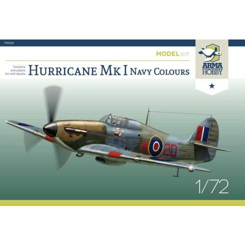 Arma Hobby Hawker Hurricane Mk.I Royal Navy Colours makett