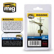 AMMO RIGGING - MEDIUM FINE 0.02 MM