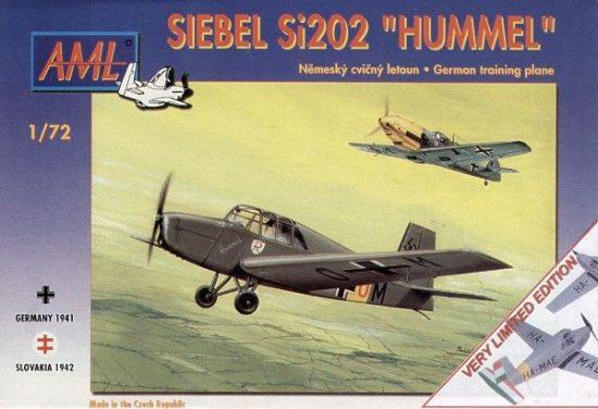 AML Siebel Si-202 'Hummel' Hungarian Air Force makett