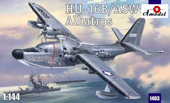 Amodel Albatros HU-16B/ASW makett