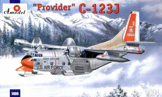 Amodel C-123J 'Provider' USAF aircraft makett