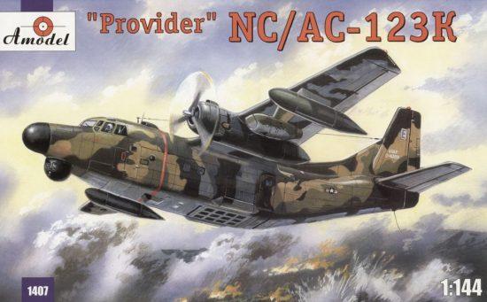 Amodel NC/AC-123K 'Provider' USAF aircraft makett