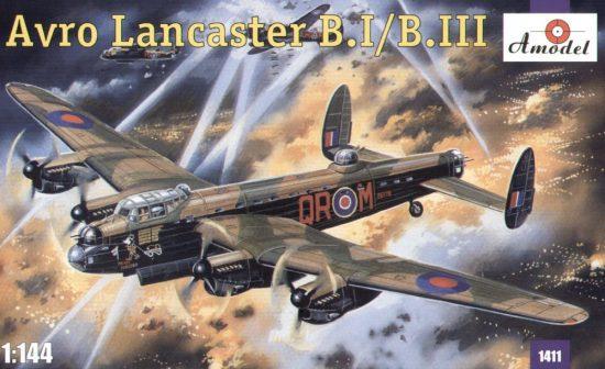 Amodel Avro Lancaster B.I/B.III makett