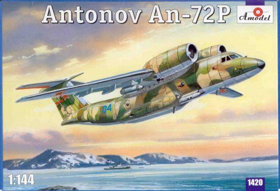 Amodel Antonov An-72P makett