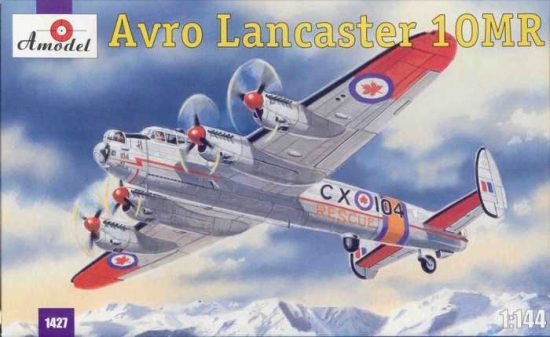 Amodel Avro Lancaster 10MR makett
