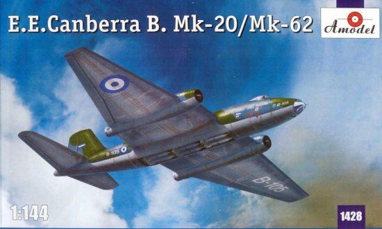 Amodel E.E.Canberra B. Mk-20/Mk-62 makett