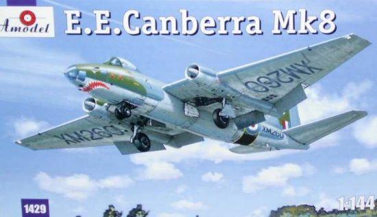 Amodel E.E.Canberra Mk.8 makett