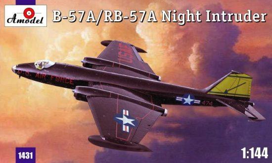 Amodel B-57A/ RB-57A Night intruder makett
