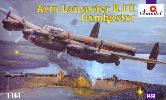 Amodel Avro Lancaster B.III Dambuster makett