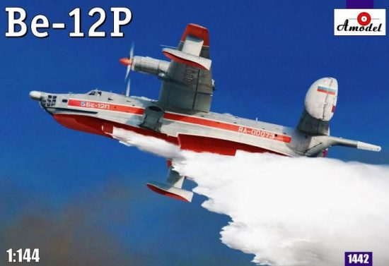 Amodel Beriev Be-12P Soviet firefighter makett