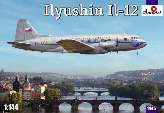 Amodel Ilyushin IL-12 Czech airliner makett