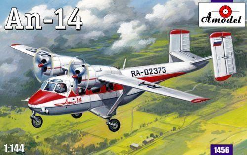 Amodel Antonov An-14 makett