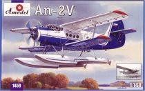 Amodel Antonov An-2V floatplane makett