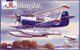 Amodel Antonov An-2V floatplane