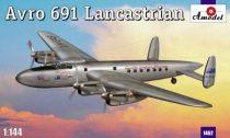 Amodel Avro 691 Lancastrian makett