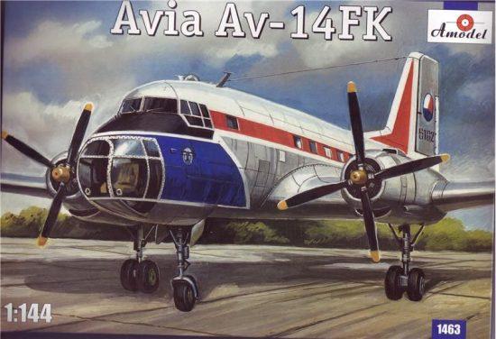 Amodel Avia Av-14 FK makett