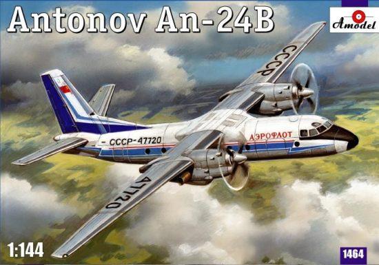 Amodel Antonov An-24B passenger airliner