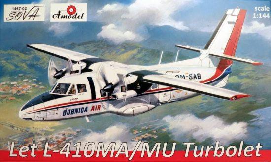 Amodel Let L-410MA/MU Turbolet
