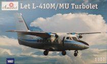 Amodel Let L-410M/MU Turbolet makett