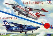 Amodel Let L-410FG & L-410UVP-3 aircraft makett
