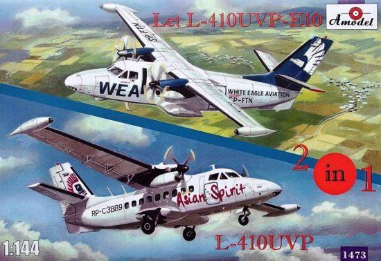 Amodel Let L-410UVP-E10 & L-410UVP aircraft