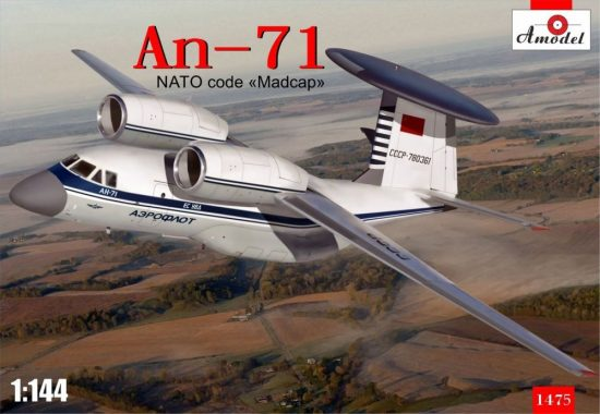 Amodel Antonov An-71 Madcap Soviet AWACS