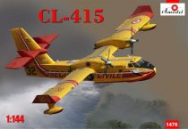 Amodel CL-415 amphibious aircraft makett