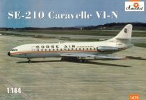 Amodel Sud-Aviation SE.210 Caravelle VI-N makett