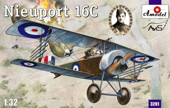 Amodel Nieuport 16C (A134)