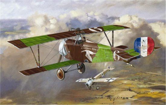 Amodel Nieuport 16 (Andre Chainat) makett