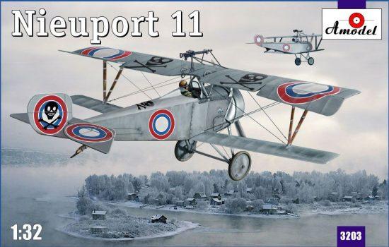 Amodel Nieuport 11 makett