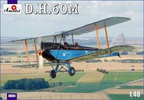 Amodel De Havilland DH.60M Metal Moth makett