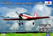 Amodel Yak-52 Soviet two-seat aerobatic aircraft makett