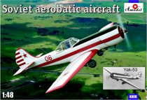 Amodel Yak-53 Soviet aerobatic aircraft makett