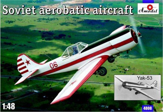 Amodel Yak-53 Soviet aerobatic aircraft