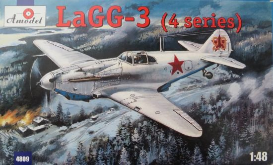 Amodel LaGG-3 (4 series) Soviet fighter