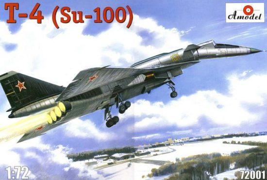 Amodel T-4 (SOTKA) Soviet supersonic strategic