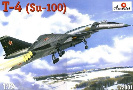 Amodel T-4 (SOTKA) Soviet supersonic strategic makett