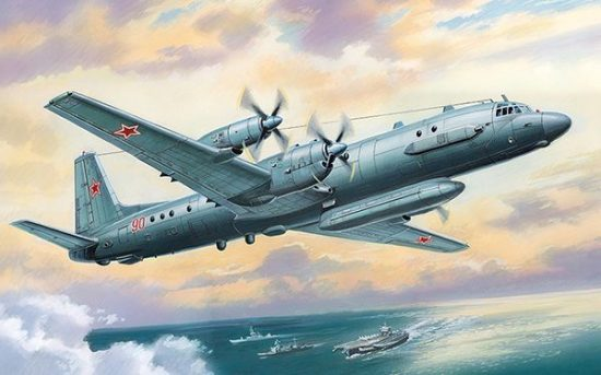 Amodel Ilyushin Il-20/24 makett