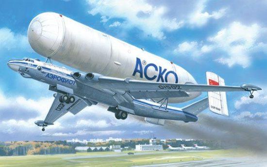 Amodel VM-T 'Atlant' Soviet transport aircraft makett