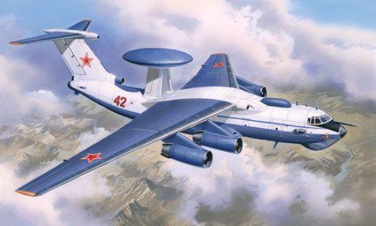Amodel A-50 Soviet radio supervision aircraft makett