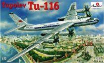 Amodel Tupolev Tu-116 passenger aircraft makett